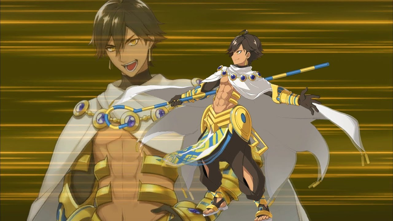 Fate/Grand Order】Ozymandias (Rider) NP+EXTRA Attack【FGO】 - YouTube