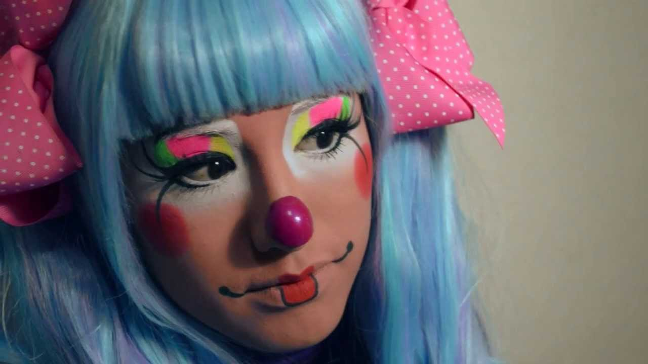 Viviendo una Experiencia Hermosa , Payasita Motita (Maquillaje Payaso  Augusto)
