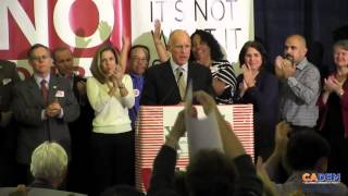 Jerry Brown Prop 30 Victory!
