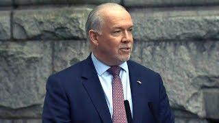 B.C. spending scandal 'a result of years of entitlement': Premier Horgan