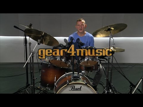 Pearl Decade Maple 22'' Am Fusion Drum Kit with Darrin Mooney