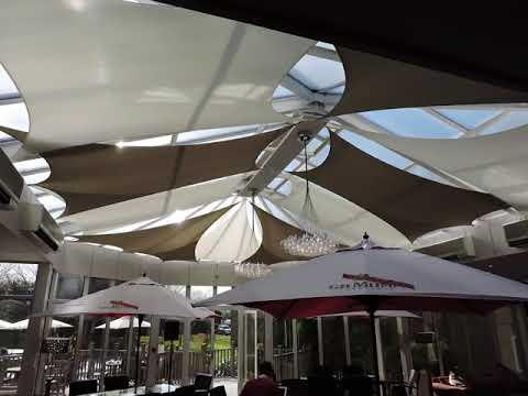 Conservatory shade sails bespoke sail blinds
