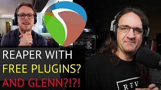 Mixing Metal in Reaper with only FREE PLUGINS! - Interview with Glenn Fricker