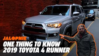 The One Thing Every Car Truly Needs   2019 Toyota 4Runner
