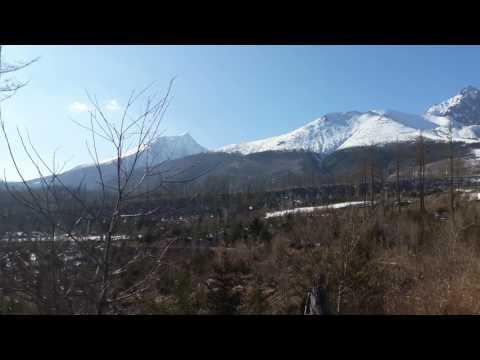 High  Tatras near Lomnicky Stit, Slovakia. Land of large carnivores