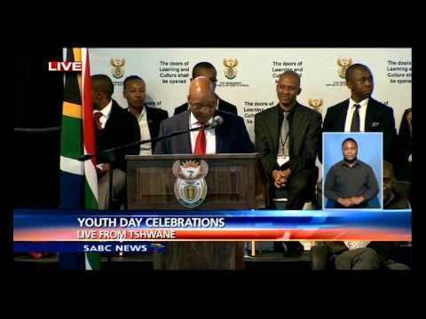 Jacob Zuma's speech at the Youth Day celebrations in Pretoria