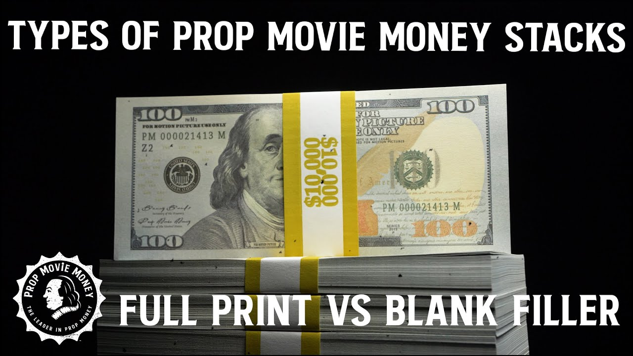 Prop Movie Money | The Official Prop Money of Hollywood