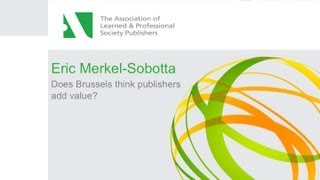 Does Brussels think publishers add value?