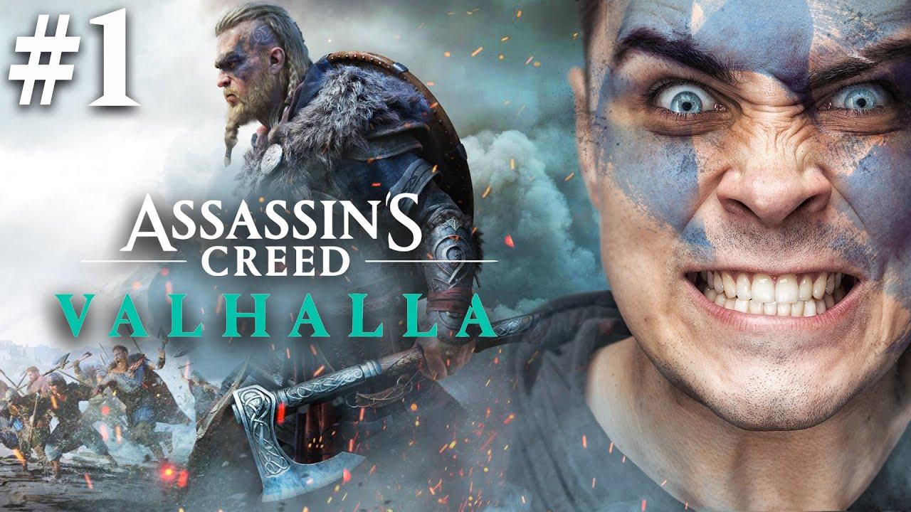 COŚ PIĘKNEGO! - Assassin Creed VALHALLA! cz.1/3
