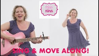 Children's Song: Knees Up, Mother Brown -  Move & Sing Along Song for Kids