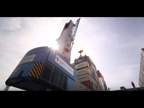 Conakry Terminal - Modernisation du Port - Bolloré Ports