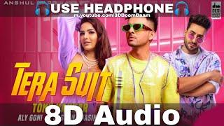 Tony Kakkar - Tera Suit (8D Audio) | Aly Goni & Jasmin Bhasin| Tera Suit bada tight | HQ 3D Surround