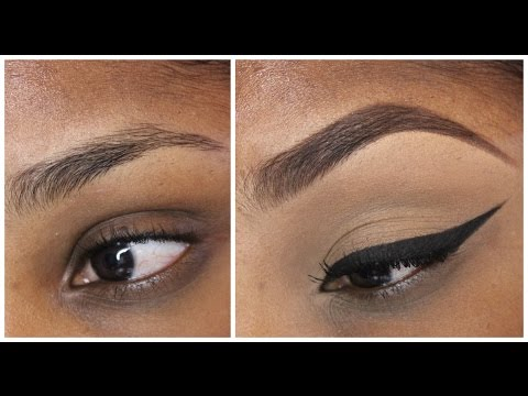 Eye Brow Tutorial With And With Out Concealer