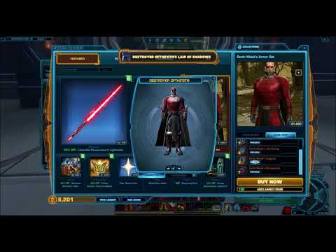 Buy swtor account