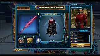 SWTOR Amazing Item for only 10 Cartel Coins Patch 55