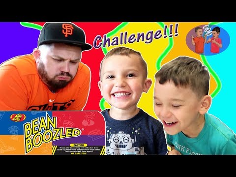 Jelly Bean Challenge Thumb Uppers Do The BeanBoozled Jelly Belly Game