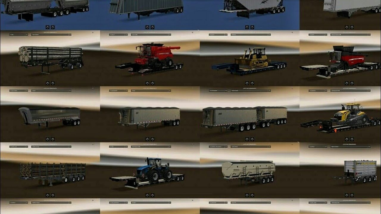 Trailer pack with Double Trailers for ATS 1 6 and 1 28 | ATS MODS