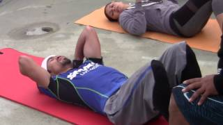 MANNY PACQUIAO COMPLETE ABS WORKOUT for Manny Pacquiao vs Floyd Mayweather