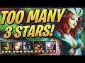 TOO MANY 3 STAR UNITS! Egg Rolling is OP   Teamfight Tactics Set 2   TFT   LoL Auto Chess