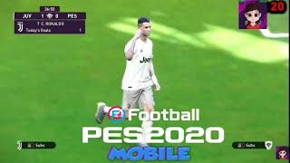 NUEVA CELEBRACION DE CRISTIANO RONALDO PES 2020 MOBILE EFOOTBALL