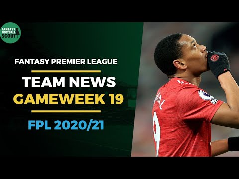 FPL Tips 2020/21: Gameweek 19 Preview - Team News for Free Hit GW18   Fantasy Premier league
