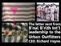 B?nai B?rith Writes To Urban Outfitters CEO
