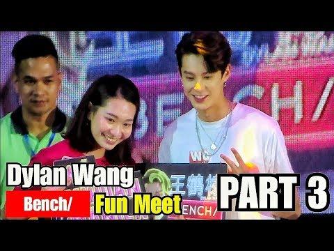 Dylan Wang 王鹤棣 FUN MEET GAME LIVE At BENCH Manila Philippines PART 3