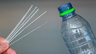How to make STRAWS from PLASTIC BOTTLES ! Be sure to share it!
