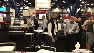 Video still for Dynapac Displays Paving, Compaction Equipment at World of Asphalt 2018