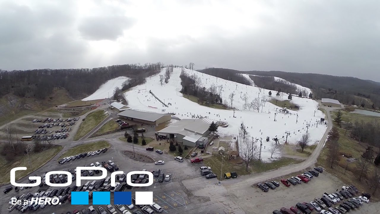 gopro 3+ | dji phantom 2 | snowboarding at hidden valley | edit