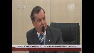 Audiência Pública debate desarmamento na Câmara de Blumenau