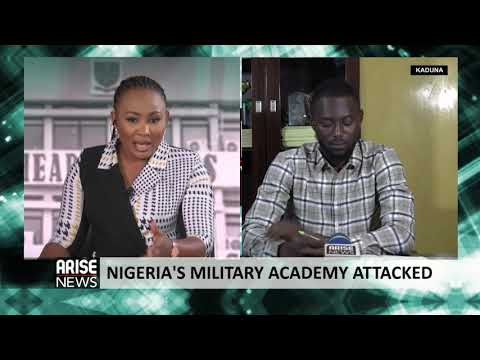 NIGERIA'S MILITARY ACADEMY ATTACKED - NEWSNIGHT