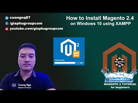 How to Install Magento 2.4 on Windows 10 using XAMPP