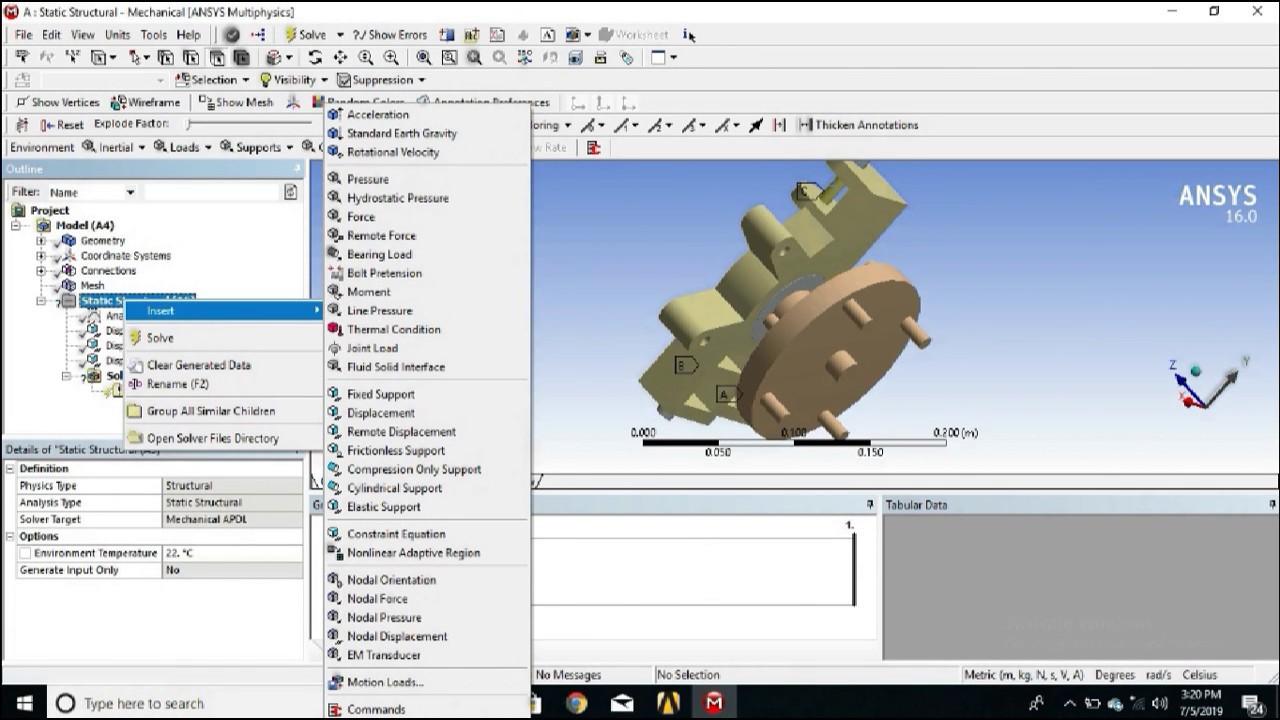 Upright Finite Element Analysis | Structural Analysis | Ansys Workbench |  FSAE - BAJA
