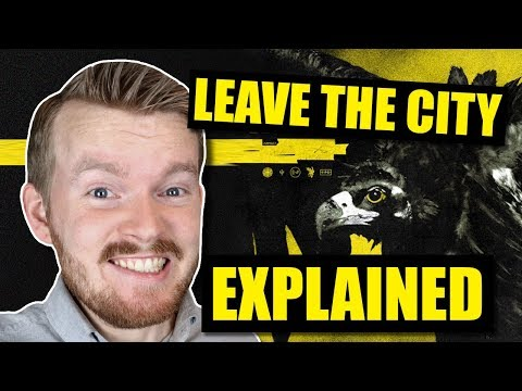 "What does ""Leave the City"" by Twenty One Pilots mean? 