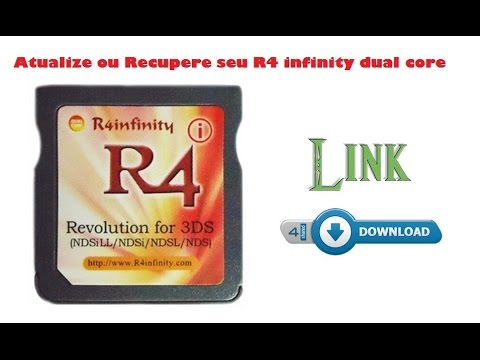 Atualizar / Recuperar R4 Infinity Dual Core + Link para Download do Kernel  - 3ds, 2ds, ds
