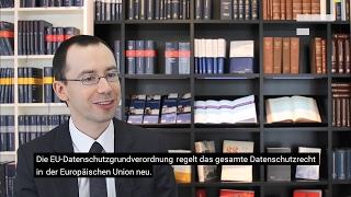 Lukas Feiler über die EU-Datenschutzgrundverordnung