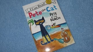 Pete The Cat ~ Pete At The Beach Children