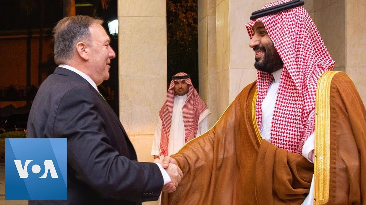 Download Pompeo Meets With Saudi Crown Prince Mohammed bin Salman