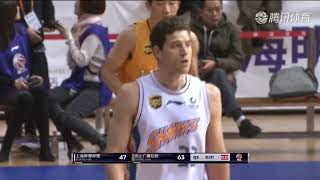 Sharks lose by three as Jimmer Fredette goes for 45 and stuffs the stat sheet...