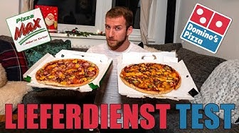FAST FOOD CHEAT DAY | LIEFERDIENST TEST | Pizza MAX vs DOMINOS Pizza