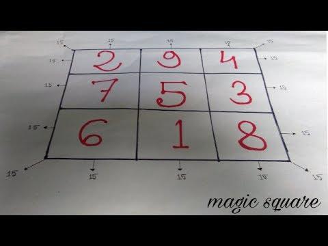 magic square hindi