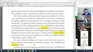 08 Studrondo pri Verkoj de Elpin | 안우생 에스페란토 문학작품 공부 (zoom)