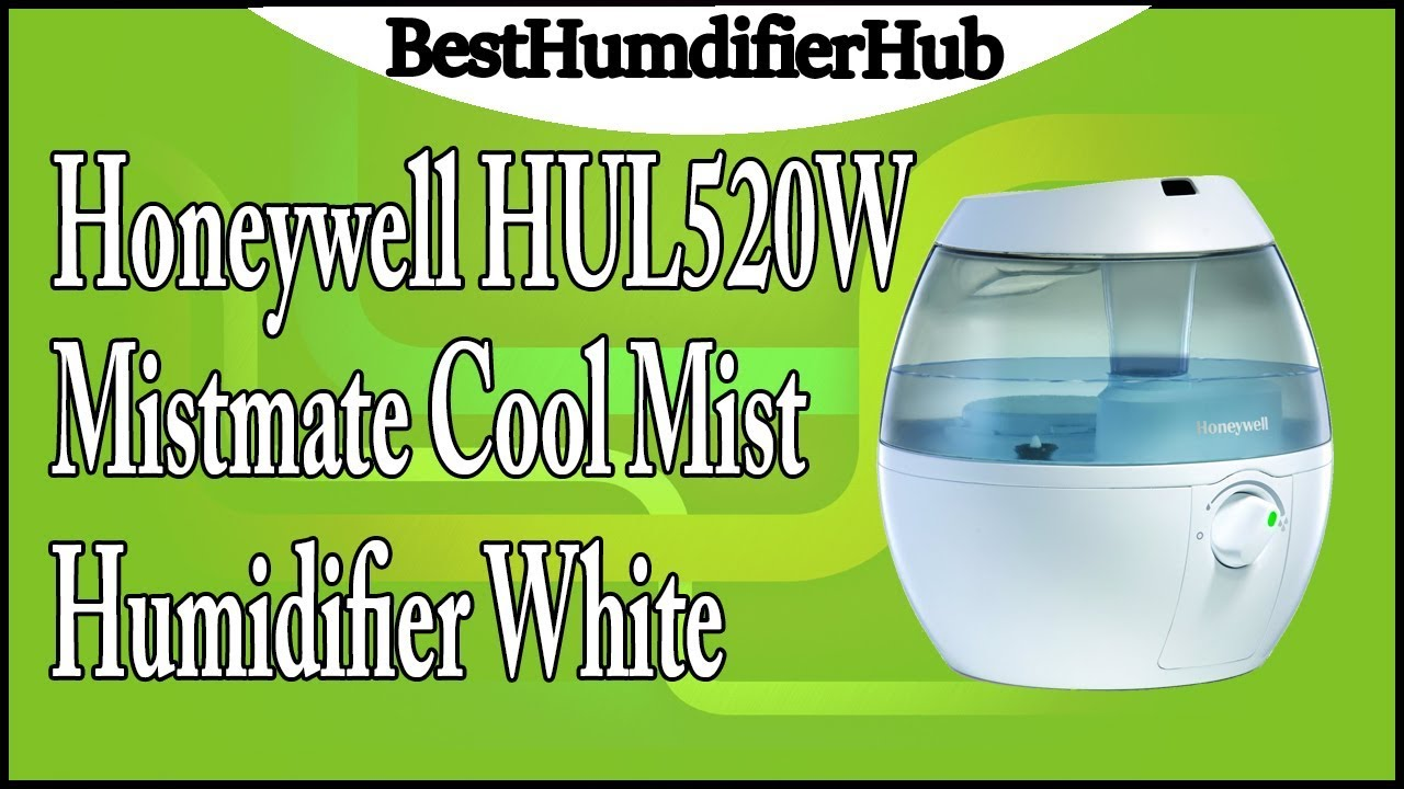Honeywell humidifier reviews - Honeywell Hul520w Mistmate Cool Mist Humidifier White Review