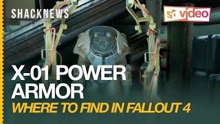 Fallout 4 Where to Find X-01 Power Armor