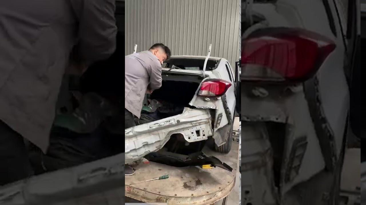 Hyundai Elantra Restoration Full Process with 修车哥日常 Mechanic Chris