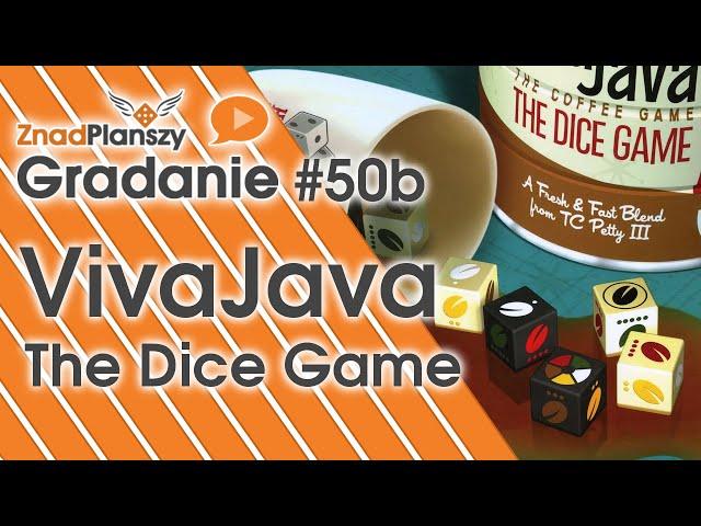 VivaJava: The Coffee Game: The Dice Game | BoardGamesWeb