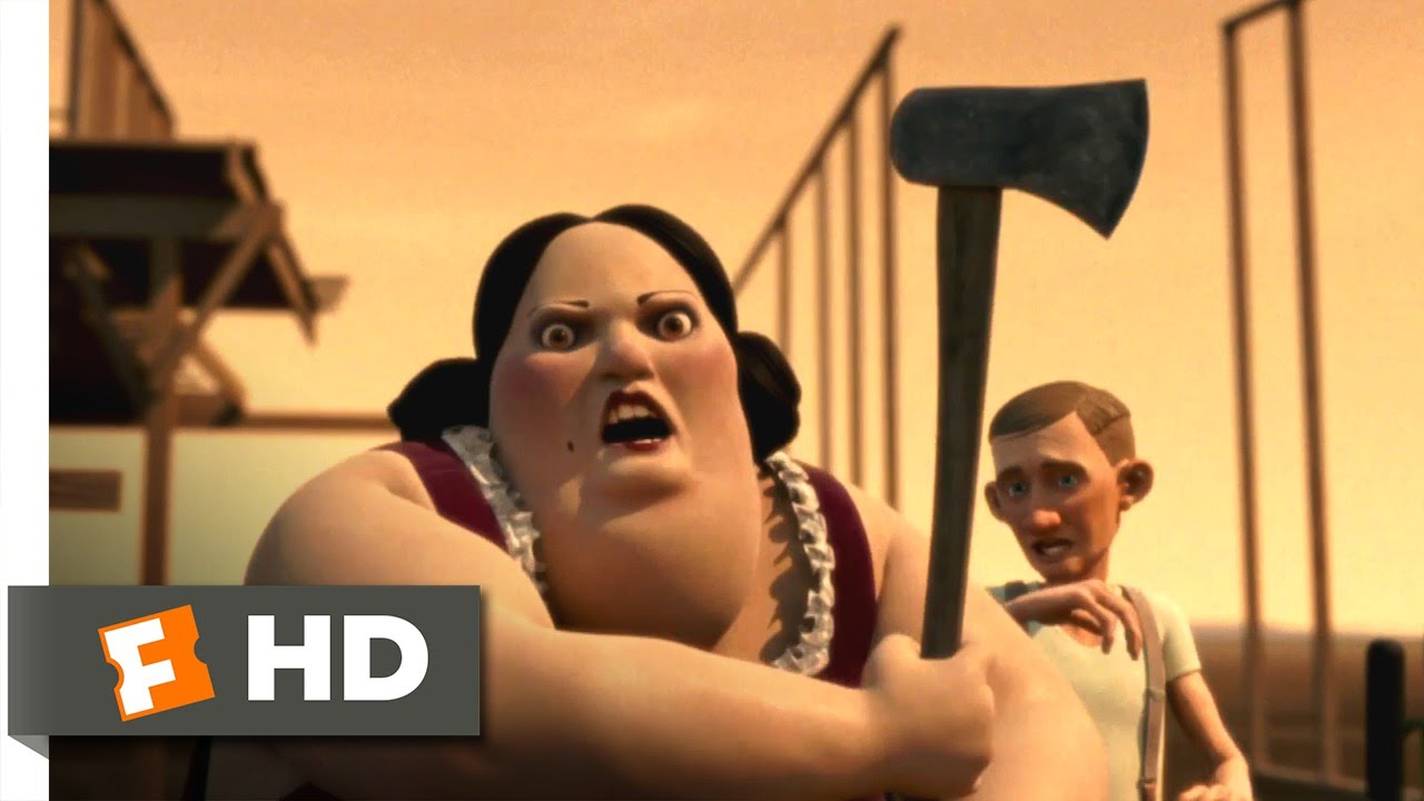 Monster House (7/10) Movie CLIP - She Died, But She Didn't Leave (2006) HD  - YouTube