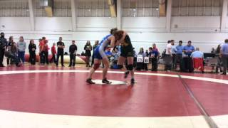 2015 Dino Invitational: 59 kg Final Krystin Paquette vs. Amber Maschke