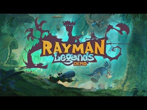 Wii U: Rayman Legends - Demo (Co-op) |